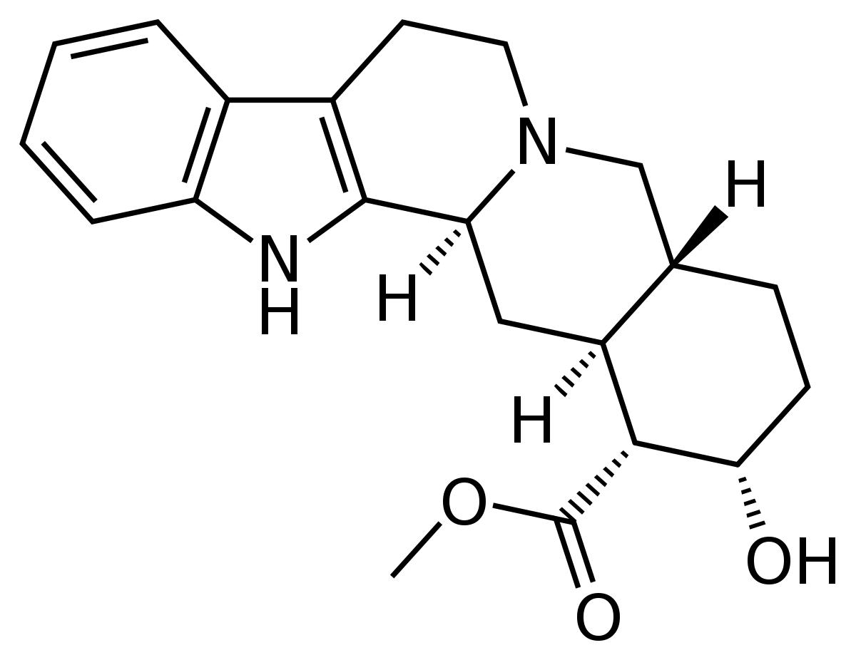 Yohimbine Hydrochloride and Rauwoiscine