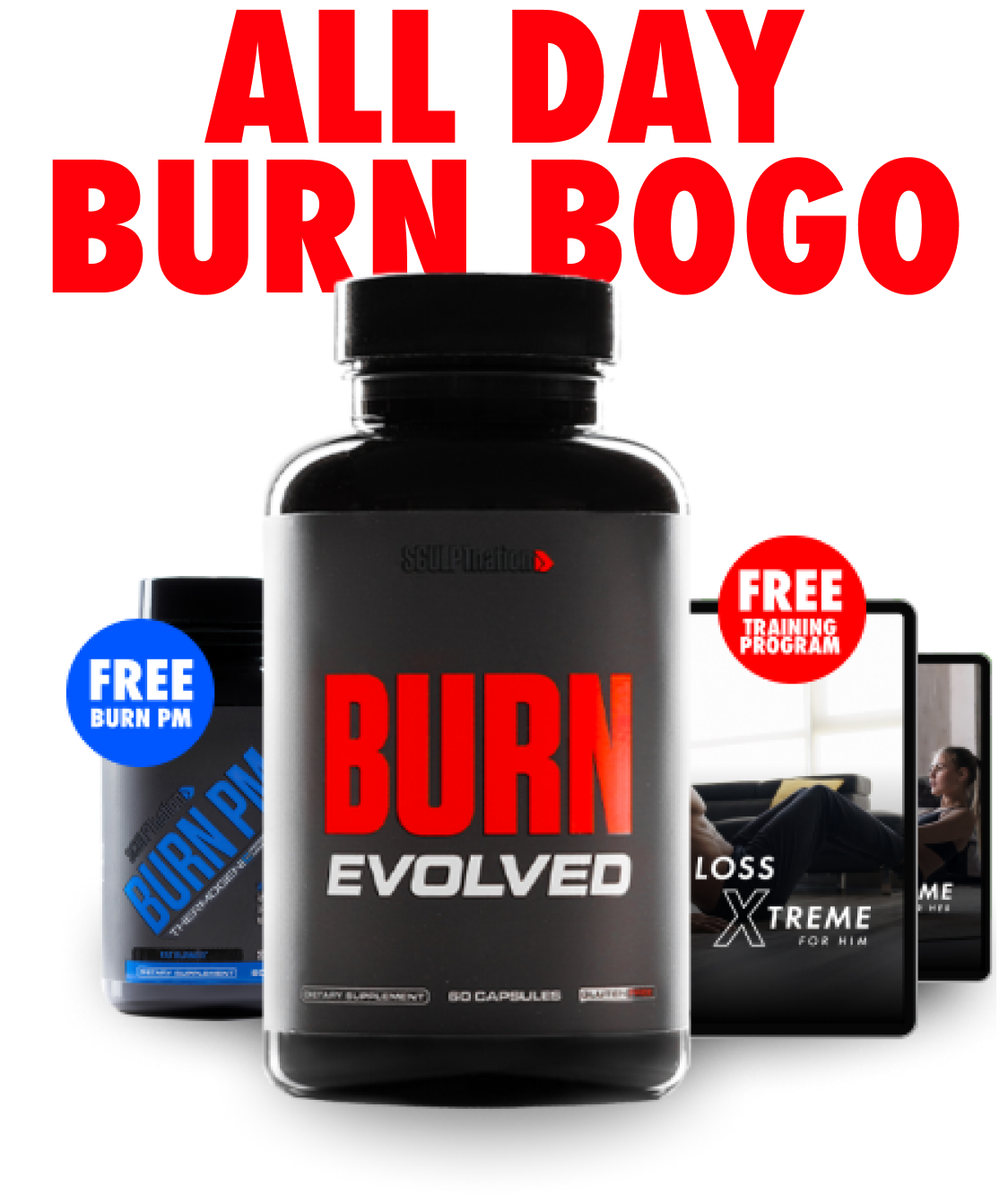 Burn BOGO Image